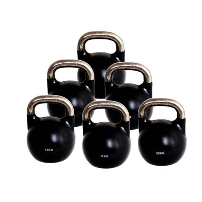 Marcy 12 to 32kg Competition Rubber Coated Kettlebell Set