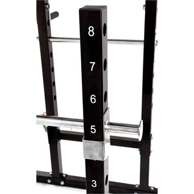 Marcy Bruce Lee Dragon Power Rack Height Adjustment