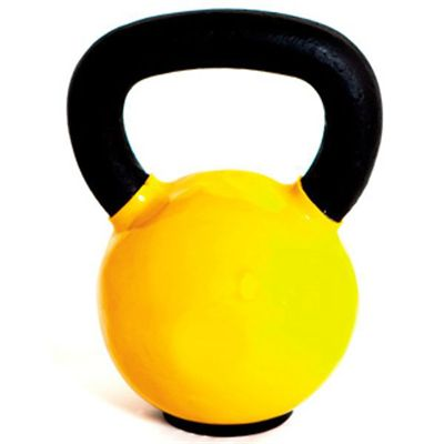 Marcy Cast Iron Vinyl Dipped 6kg Kettlebell
