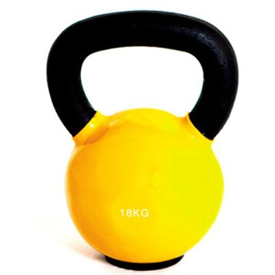 Marcy Cast Iron Vinyl Dipped Kettlebell 18kg