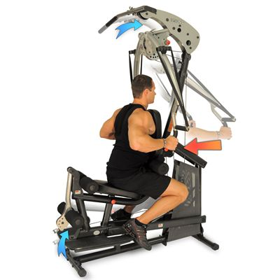 Marcy Inspire Bodylift Gravity Resistance Gym - In Use