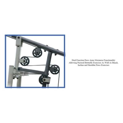 Dual Function Press Arms
