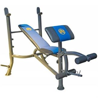 Marcy WM367 Barbell Bench with Preacher