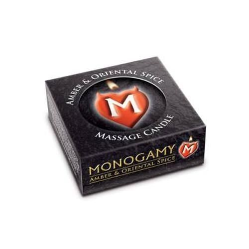 Monogamy massage candle 25g for Massage gifts for her