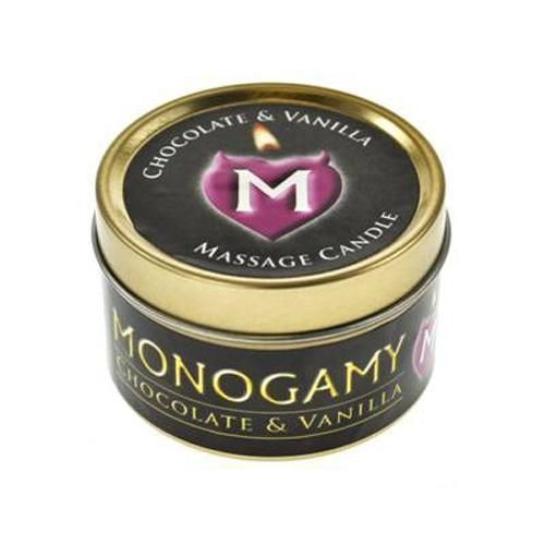 Monogamy massage candle 65g for Massage gifts for her