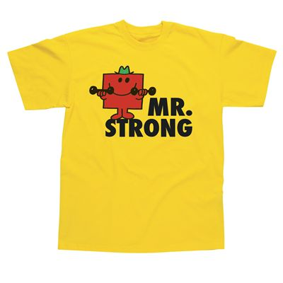 Mr Strong Kids T-Shirt