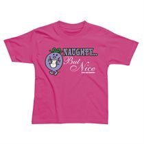 Little Miss Naughty But Nice Kids T-Shirt