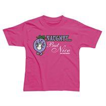 Little Miss Naughty But Nice Kids T-Shirt