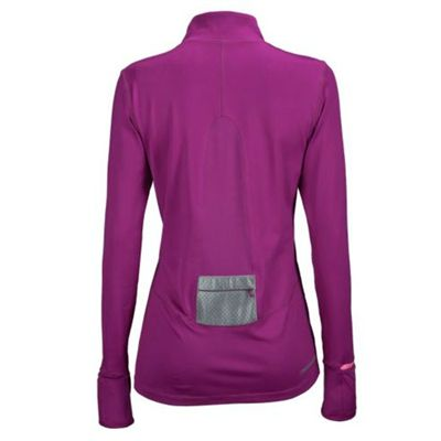 New Balance Womens NBx Half Zip Top - Back