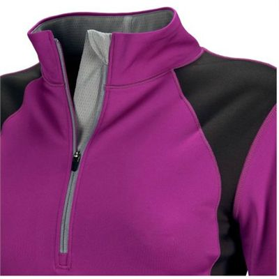New Balance Womens NBx Half Zip Top - Detail