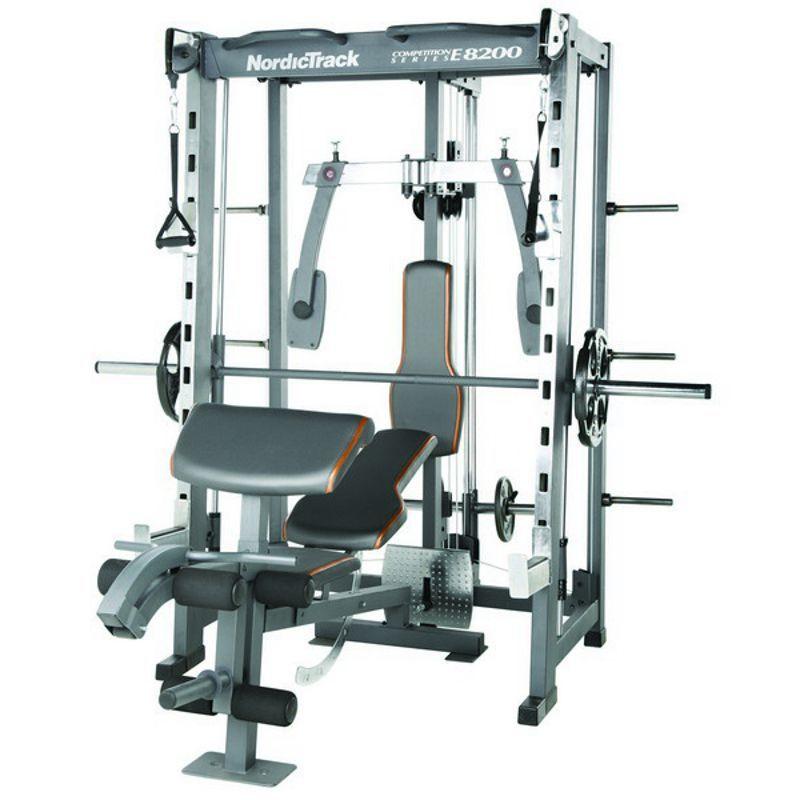 NordicTrack E8200 Competition Series Smith Machine ...