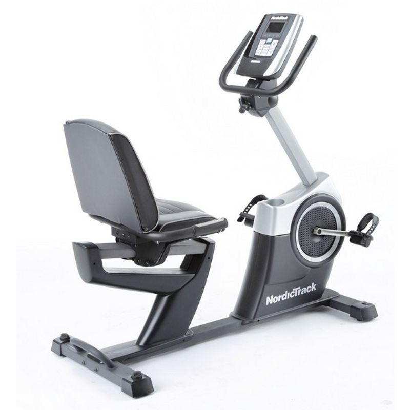 NordicTrack GXR4.1 Recumbent Exercise Bike with iFit Live