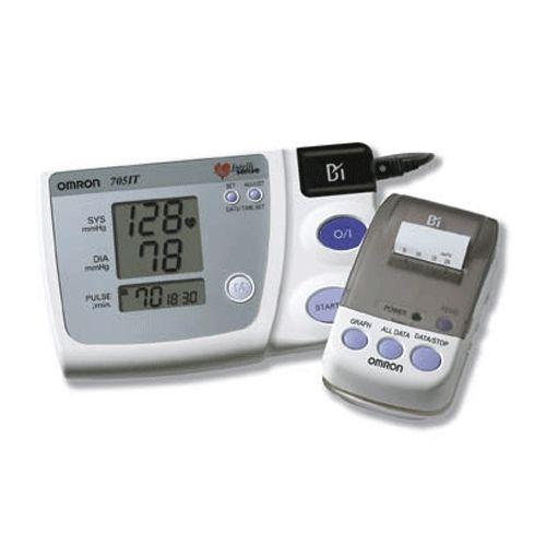 Omron 705CP II Upper Arm Blood Pressure Monitor - Sweatband.com