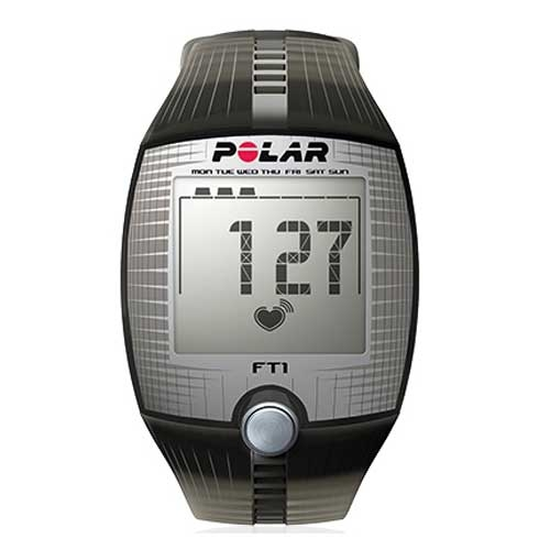Polar FT1 Heart Rate Monitor  BlackSilver