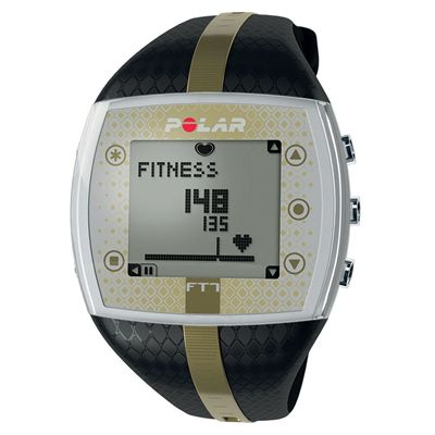 Polar FT7 Heart Rate Monitor - Black/Gold