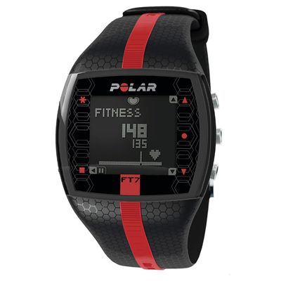 Polar FT7 Heart Rate Monitor - Black/Red