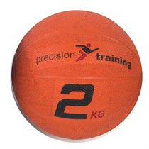 Precision Training 2kg Rubber Medicine Ball