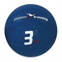 Precision Training 3kg Rubber Medicine Ball