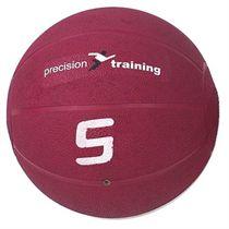 Precision Training 5kg Rubber Medicine Ball