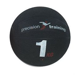 Precision Training 1kg Rubber Medicine Ball
