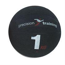 Precision Training 1kg Rubber Medicine Ball