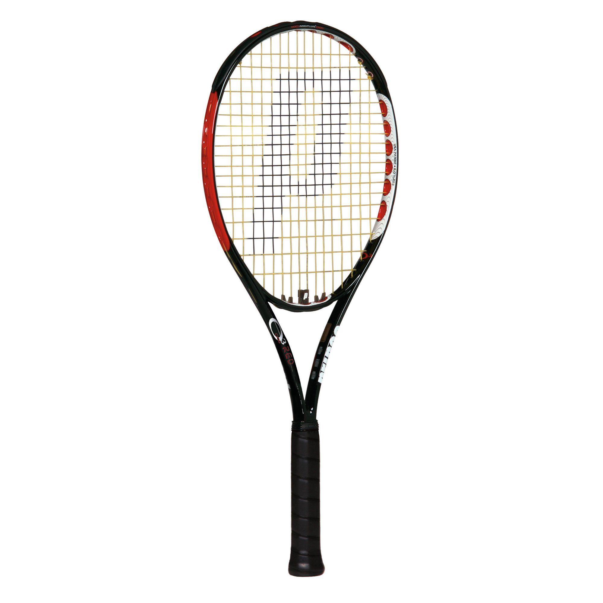 Prince O3 Red+ Tennis Racket - Sweatband.com