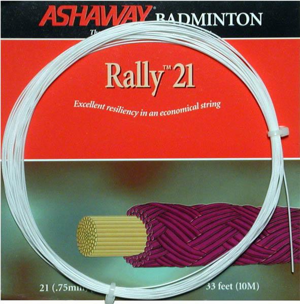 Ashaway Rally 21 Badminton String  10m Set