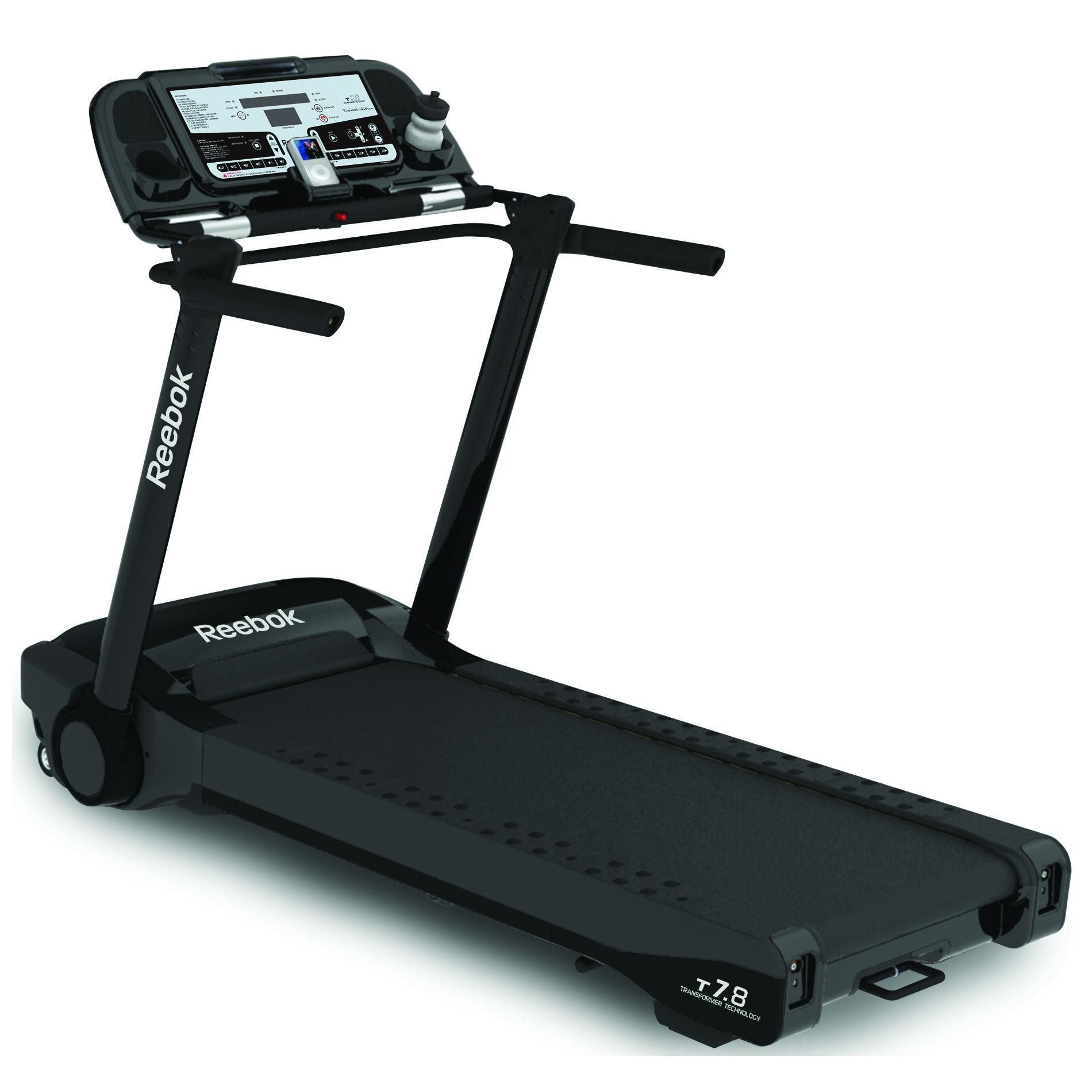 Reebok T7 8 Le Folding Treadmill Sweatband Com