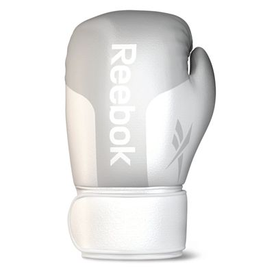 Reebok Leather Boxing Gloves White