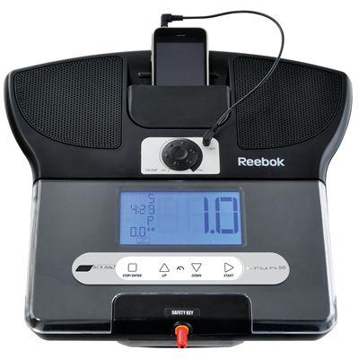 Reebok i-Run.SE Music Treadmill - Console