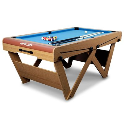 Riley 6ft W Leg Snooker and Pool Table