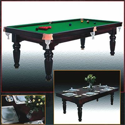 Beau Riley 7ft Oak Reversible Slate Bed Dining And Pool Table   Oak. BCE. Main  Image