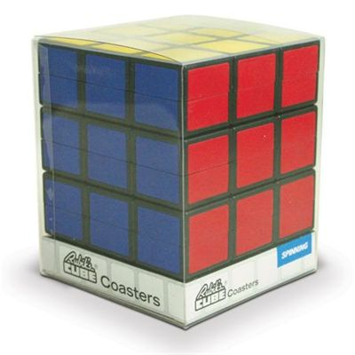 Rubik Coasters - Packed