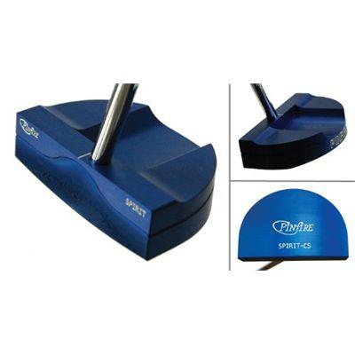 Pinfire Spirit Golf Putter - Centre Shaft Blue