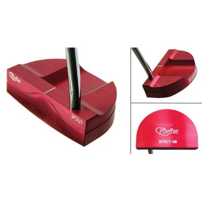 Pinfire Spirit Golf Putter - Double Bend Red