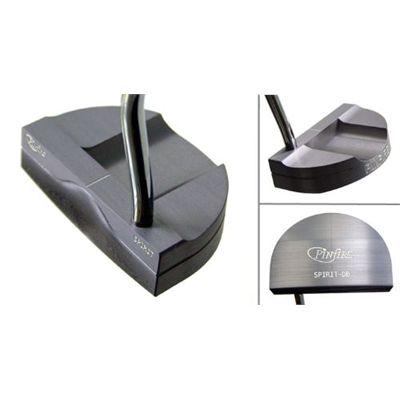 Pinfire Spirit Golf Putter - Double Bend Silver