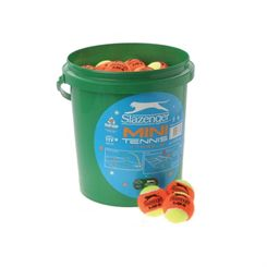Slazenger Mini Tennis Orange - 60 Ball Bucket