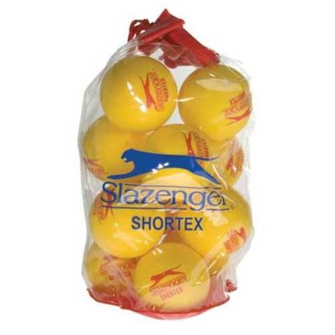 Slazenger Shortex Mini Tennis Balls - 12 Pack