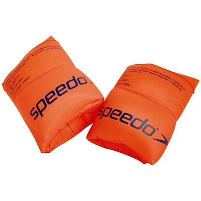 Speedo Kids Roll Up Armbands - Orange