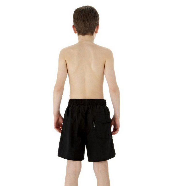 Speedo Solid Leisure Boys Swimming Shorts Sweatband Com