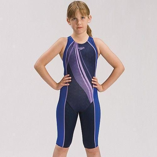 Speedo Fsii Girls Raze Kneeskin Swim Suit Sweatband Com