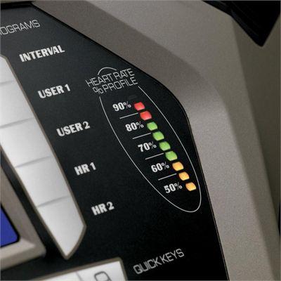 Spirit XT385 Treadmill Console Detail