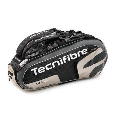 Tecnifibre Tour VO2 12 Racket Bag - Black/Gold
