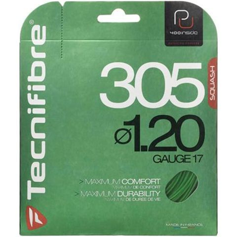 Tecnifibre 305 Premium Green Squash String - Single Set