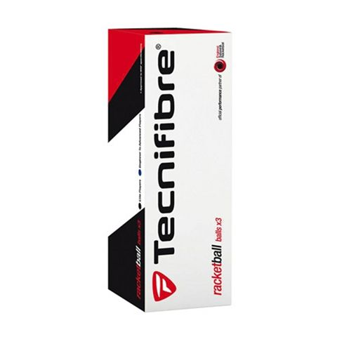 Tecnifibre Blue Racketball Balls (box of 3)