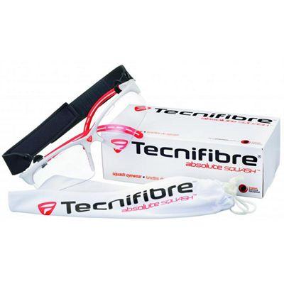 Tecnifibre Eye Protection Glasses-White