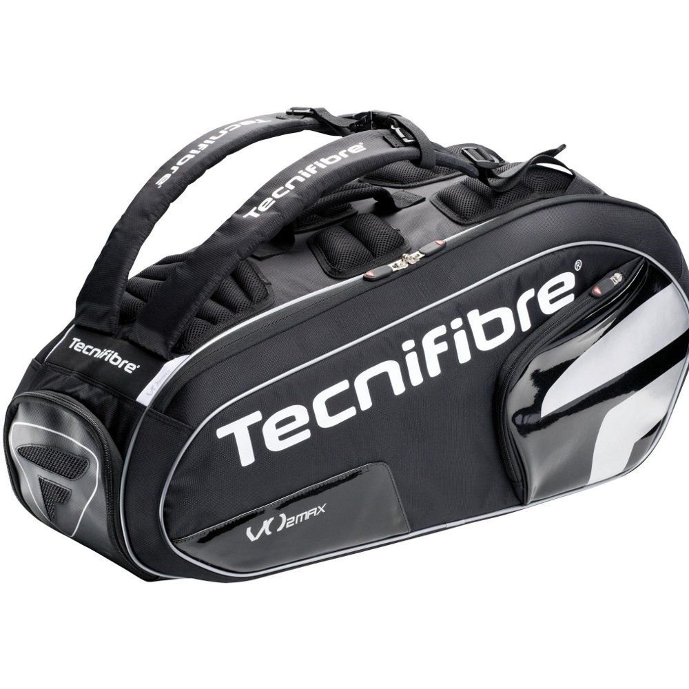 tecnifibre tour vo2 max 9 racket bag sweatband com