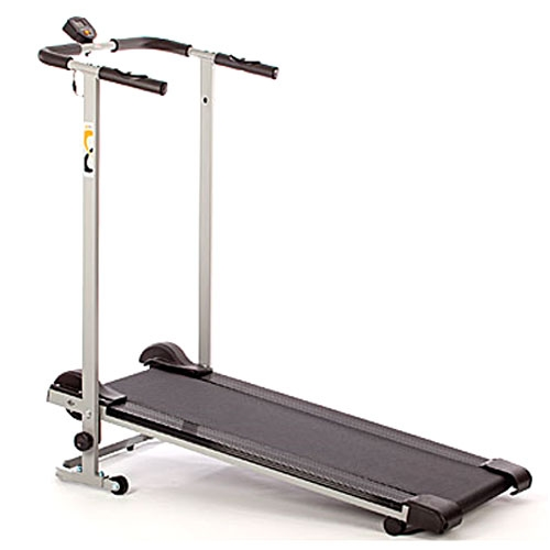 V-Fit MTT1 Manual Folding Treadmill