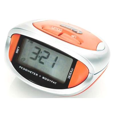 V-Fit Pedometer with Bodyfat Monitor