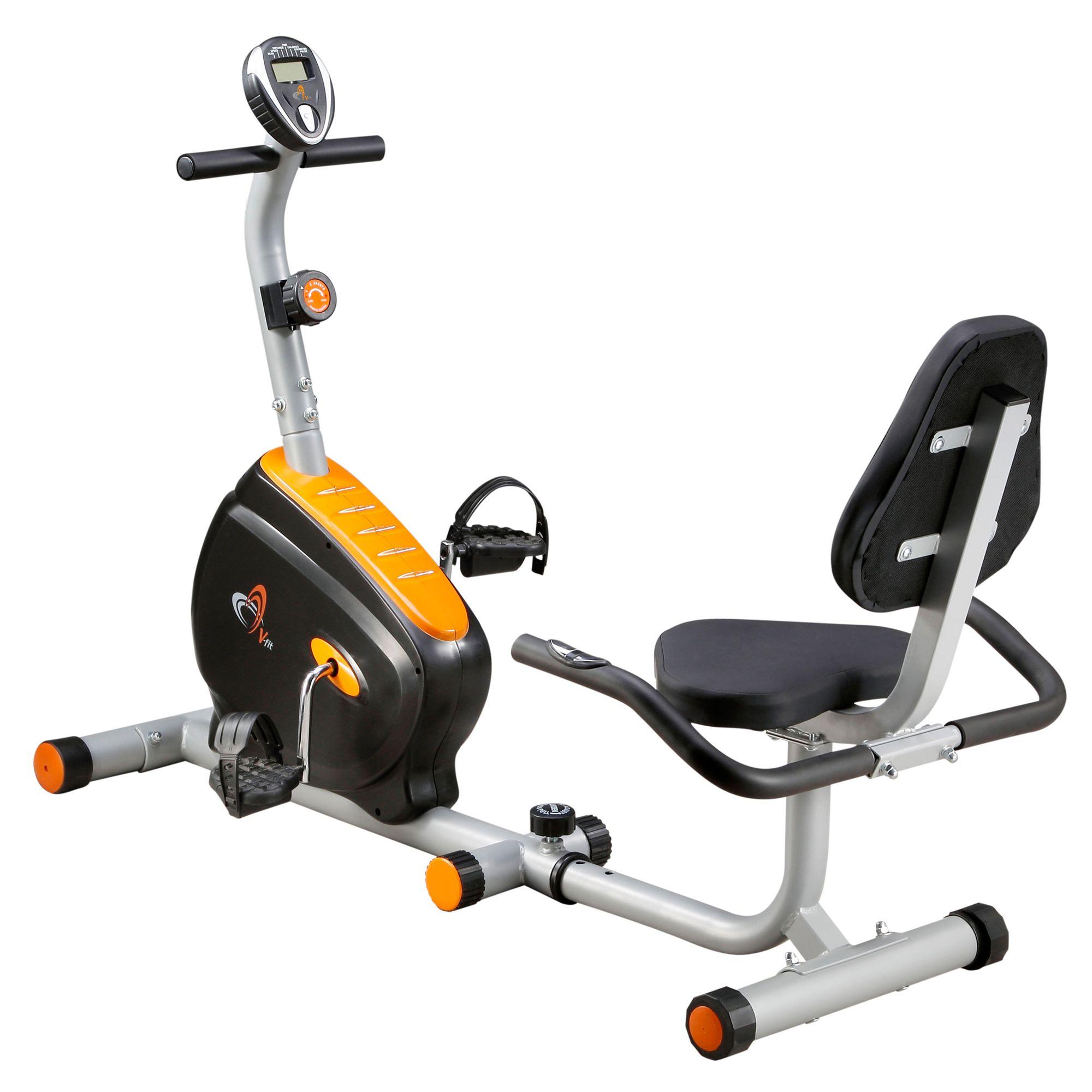 V-fit BK Series RC Recumbent Magnetic Exercise Bike